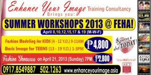 Summer Workshops 2013!