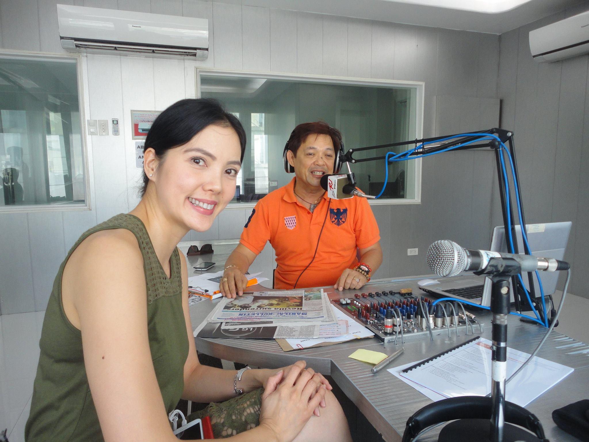 Carol Tan GOOD JOB PHILIPPINES (DZRJ 801 AM) Radio Guesting
