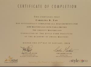 AIM Masterclass 2018