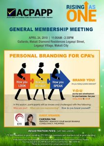 Personal Branding With ACPAPP