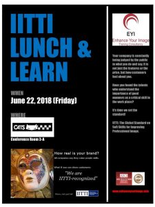 IITTI Lunch & Learn_CATS Motors Inc.
