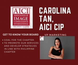 VP Marketing_AICI Philippine Chapter (2018 – 2020)