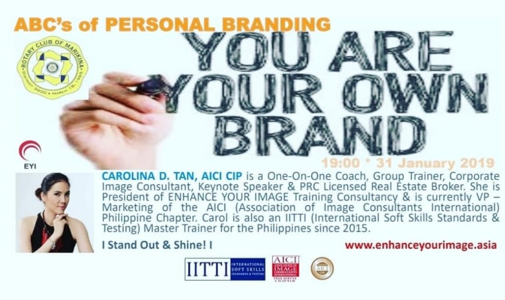 ABC's of PERSONAL BRANDING
