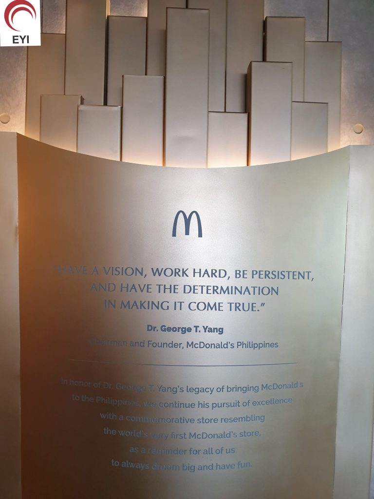 Lesson From McDonald's