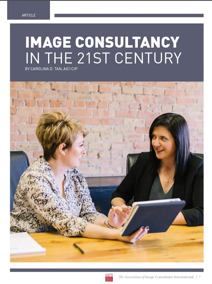 IMAGE CONSULTANCY in the 21st Century